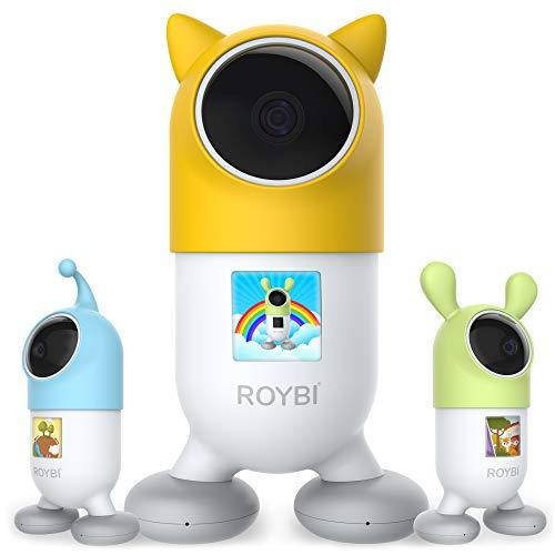 ROYBI Robot Smart Educational Bilingual Talking Learning AI Robot Toy for Kids Boys & Girls Teaching...