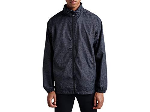 ASICS Men's Packable Jacket Running Clothes, L, Performance Black
