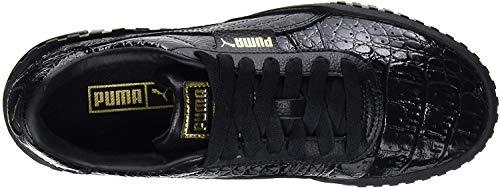 Zapatillas Puma Cali Croc efecto piel cocodrilo – dos colores