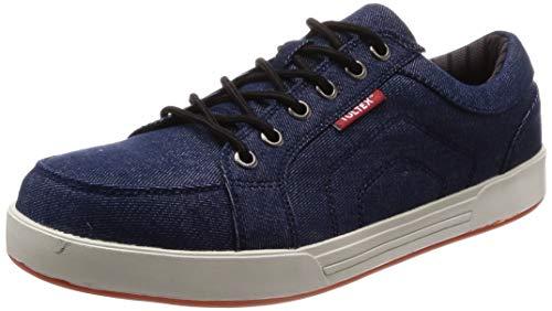 [タルテックス] 安全靴/作業靴 51648 ネイビー 22.5 cm 3E