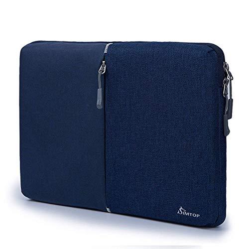 SIMTOP 12,3-Zoll-Laptop-Hülle Laptop 13 Zoll Tasche für Microsoft Surface Pro X / 7/6/5/4/3/2/1, Neue Dell XPS 13 Laptop 2020, 360-Grad-Schutzhülle für stoßfeste Taschen mit Zubehörtasche