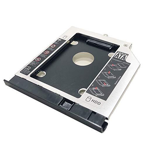 Adaptador de marco óptico para unidad de disco duro SSD para Acer E5-571G E5-551G E5-531G E5-511G V3-572G V3-532G con bisel frontal