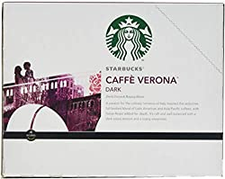 Starbucks Café Verona Dark, K-Cup Portion Pack for Keurig Brewers, 24-Count