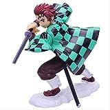Yubingqin Anime Demon Slayer Kimetsu No Yaiba Kamado Tanjirou Figura Figura Modelos Coleccionables Juguetes de Dibujos Animados Muñecas Decoración Familiar Juguetes para niños