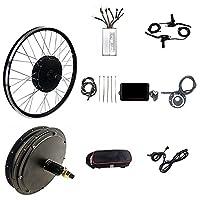 "48V 1000W 20""26"" 27.5""29"" 700C E-bike後輪モーター変換キット(KT-LED8Hディスプレイ付き)-取り付けが簡単 (Color : Spinning flywheel, Size : 24"")"