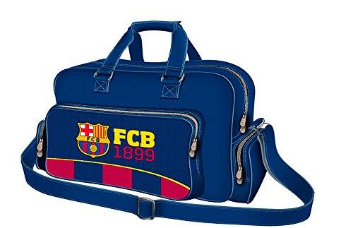 Karactermania FC Barcelona Legend Bolsa de Viaje, 59 cm, 50 litros, Azul