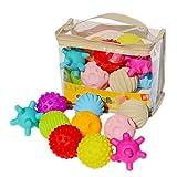 KLOVA Babyspielzeug Hand fangen Ball Baby Trainingsmassage Soft Ball Textur sensorisches Spielzeug