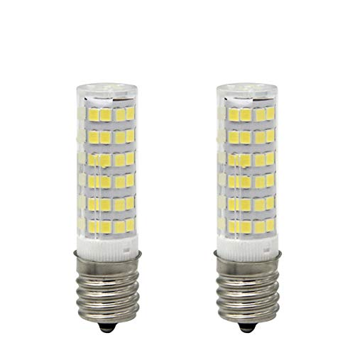 E17 LED T7 T8 Intermediate Base LED Appliance Bulb T8 T7 Lightbulb Dimmable 110 volt Daylight 5 Pieces xiaominilight 130v Pack of 2 Microwave Oven Light Bulbs