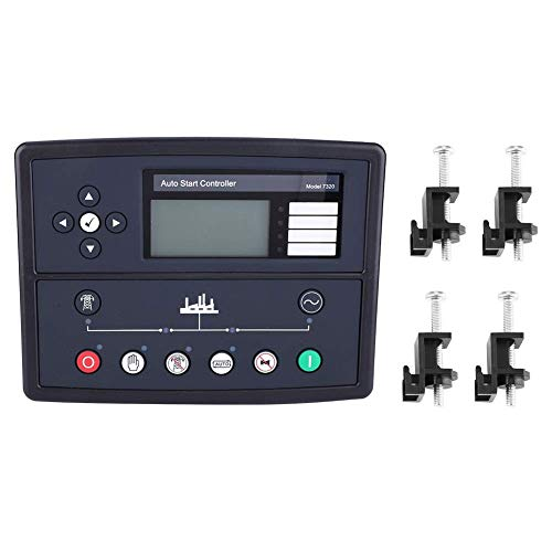 Chenbz Regulador Programador de Inicio automático, Resistente Duradero Reloj en Tiempo Real de Control de Arranque automático del generador del Grupo electrógeno Módulo de Piezas DSE7320