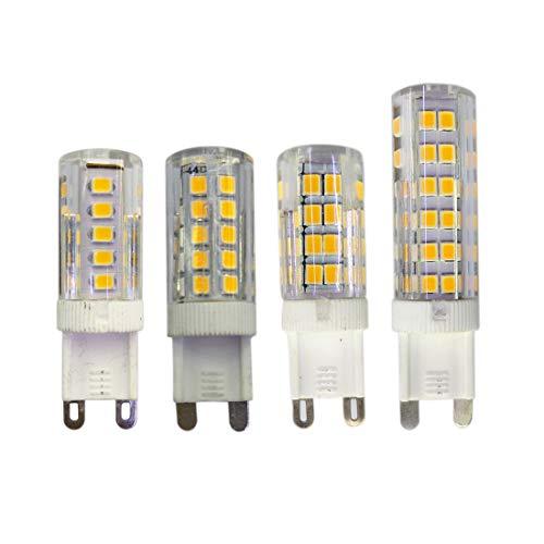RZL LED Lights Lámpara LED G9 Caliente/FRÍO Blanco G9 5W 7W 9W 12W AC220V-240V 360 Grado Ángulo de Haz de 360 Grados Mini LED Bulbo Luz (Color emisivo : Cold White, Wattage : 5W 35LED)