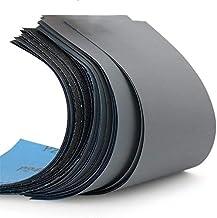 51 Stuks Schuurpapier set,Superfijn schuurbladen,Korrel van 120 tot 3000/5000/7000/8000/10000 Droog/nat Voor Schuren Schuu...