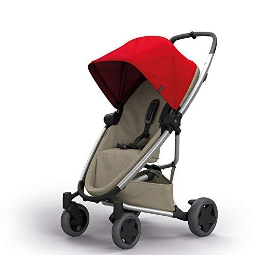 Quinny 1398996000 Zapp Flex Plus Poussette Urbaine, flexible et Compacte, Siège Inclinable dans les deux Sens, de 6 mois à 3 ans et demi, Red on Sand