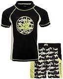 Body Glove Boys' 2-Piece UPF 50+ Rash Guard and Swimsuit Trunks...