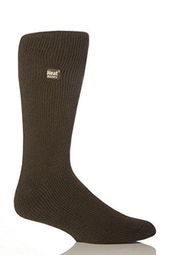 Heat Holders Thermal Socks, Men's Original, US Shoe Size 7-12, Forest Green