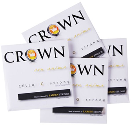 CROWN Strings by LARSEN Cellosaiten SATZ mittel