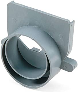 NDS 249G Offset End Outlet, 3-Inch and 4-Inch, Grey