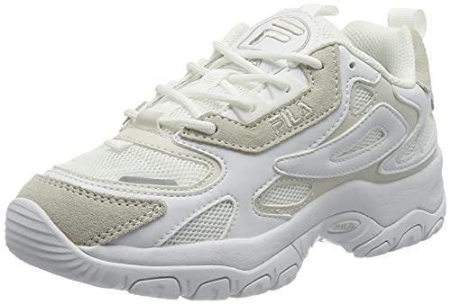 FILA Damen Eletto wmn Sneaker, White/Marshmallow, 39 EU