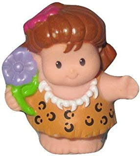 Fisher Price Little People Caveman Dinoland Baby Dinosaur Playsets Replacement CAVE WOMAN, in parts bag