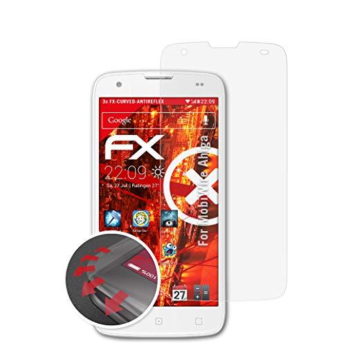 atFolix Schutzfolie kompatibel mit MobiWire Ahiga Folie, entspiegelnde & Flexible FX Bildschirmschutzfolie (3X)