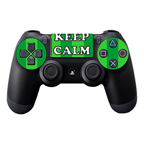 Disagu Design Skin für Sony PS4 Controller - Motiv Keep Calm and Play Football