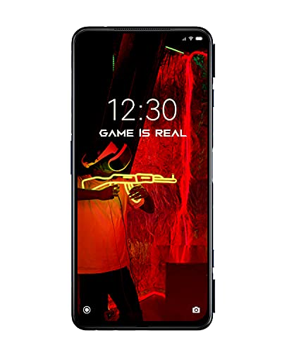 "Black Shark 4 Smartphone 5G, Qualcomm Snapdragon 870 telefono, 6,67"" AMOLED Fullscreen 144Hz Cellulare, Ricarica da 120W batteria 4500 mAh cellulari, Dual Sim, NFC, 12+256GB, Nero"