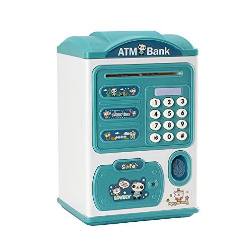 Mini-bankomat Sparande Spargrisar För Riktiga Pengar Spara, Elektronisk Maskin Mynt Bank Pengar Sparare Digital Lösenord, Automatisk Rullning Kassaskåp Gåvor För Barn Flickor Pojkar Vuxna