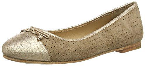 Marc Shoes Damen Bea Geschlossene Ballerinas, Grau (taupe-combi 261), 38 EU