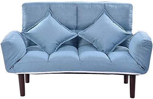 wyingj Faltbares Multifunktions-Schlafsofa, Doppelbett, mittlere und kleine Sofa-Rückenlehne und Armlehnen, kann in 5 Winkeln verstellt werden, moderner nordischer Stil, mehrere Farben-B