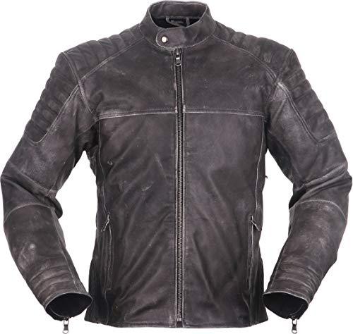 Modeka Kaleo Motorrad Lederjacke Grau L
