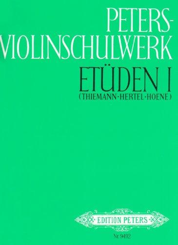 Peters-Violinschulwerk: Etüden I