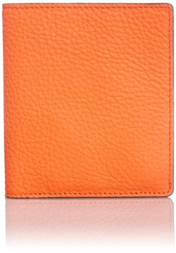 [Vintage Revival Productions] Air wallet matte shrink leather 財布 日本製 59207 オレンジ