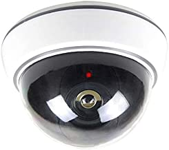 Surveillance Recorder Simulated Security Camera Fake Dome Dummy Camera with Flash Led Light Surveillance Camera Hd Recordi...