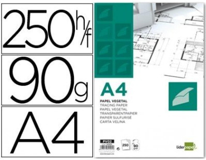 Liderpapel – Papier Zeichnung 210 x 297 mm 90 g g g m2 Pflanzen (250 Stück) B00YVPGW66  | Deutschland Outlet  2338e7