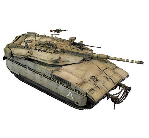 kaige Military Tank Puzzle Model Kits, 1/35 Israel Merkava Panzer Jigsaw Model, Home Collection, 10.2inch X 4,5 Inch WKY