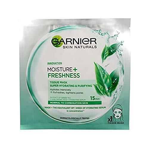 Garnier Skin Naturals Innovation Moisture + Freshness Tissue Mask for Normal to Combination Skin 32 g
