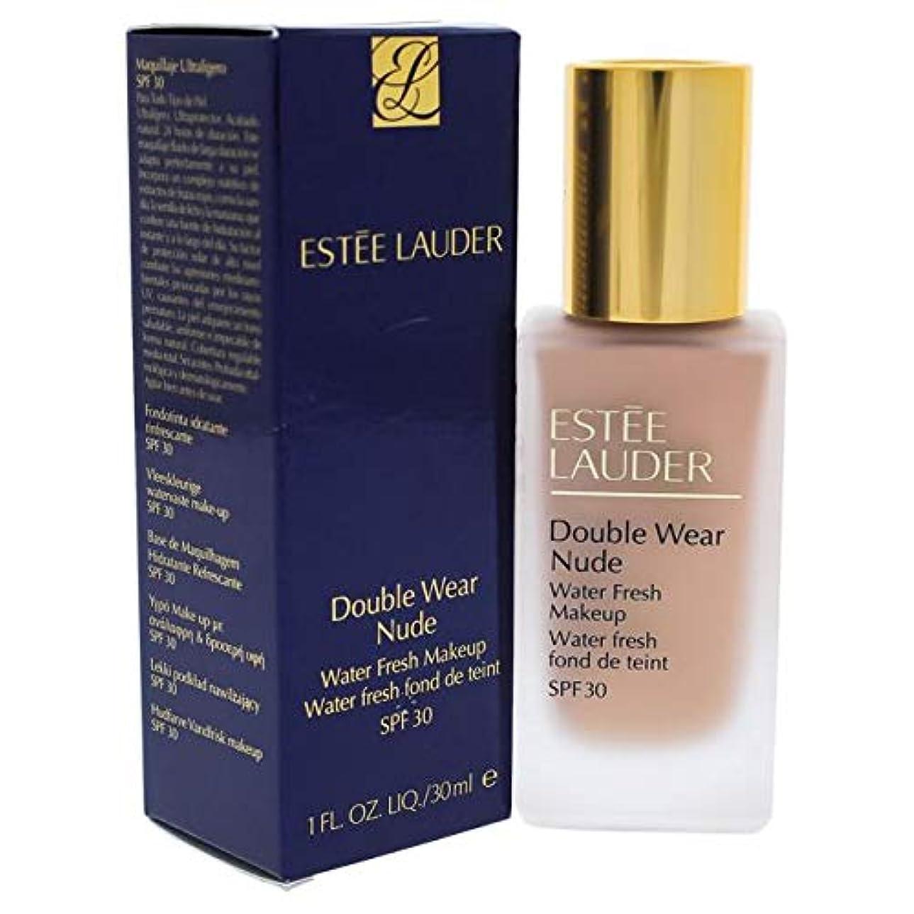 温度計義務付けられたスカーフエスティローダー Double Wear Nude Water Fresh Makeup SPF 30 - # 2C2 Pale Almond 30ml/1oz並行輸入品