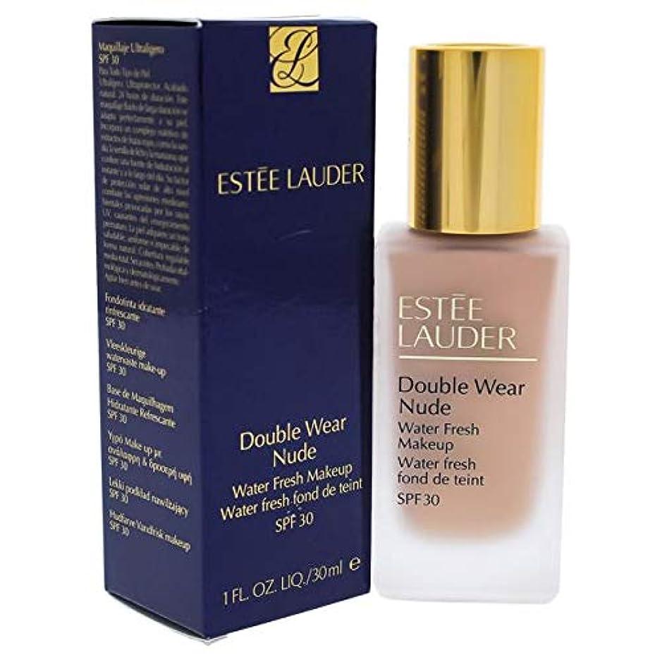 純粋に思春期傾くエスティローダー Double Wear Nude Water Fresh Makeup SPF 30 - # 2C2 Pale Almond 30ml/1oz並行輸入品