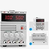 YZLP osciloscopio Fuente de alimentación Lineal MCH-305B Reparación de teléfonos portátiles con Transformador 30V 5A Ajustable (Size : 110V)
