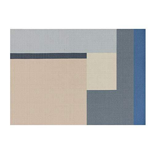 Tapis Moquettes, et sous Couverture De Chambre À Coucher pour Enfant d'escalade Géométrique Nordic Living Sofa Mat Rgu (Color : Gray, Size : 140cm*200cm)