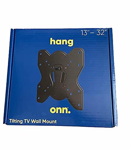Onn. Soporte de pared para TV inclinable de 13'-32'