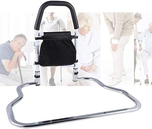 QDY-Bedside Handrails Bettgitter für ältere Menschen, Bettassistenzschienengriff mit gefalteter Aufbewahrungstasche für ältere Menschen L7d-384
