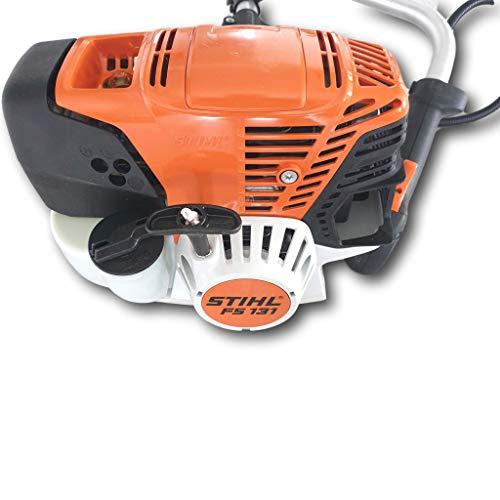 Stihl Desbrozadora FS 131, 1,4 kW/1,9 CV, motor de 4 mezclas con mango doble