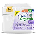 Similac Organic with A2 Milk Infant Formula, Gentle and Easy to...