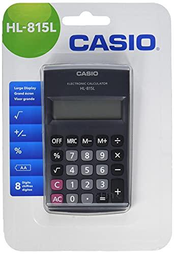 CASIO HL-815L calcolatrice tascabile - Display a 8 cifre, con radice quadrata