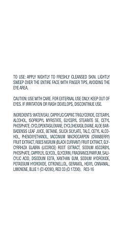 FORMULA 10.0.6 PM Perfector Overnight Hydrating Cream, Nightly Face Lotion to Moisturize & Brighten Skin, 1.69 Fl Oz