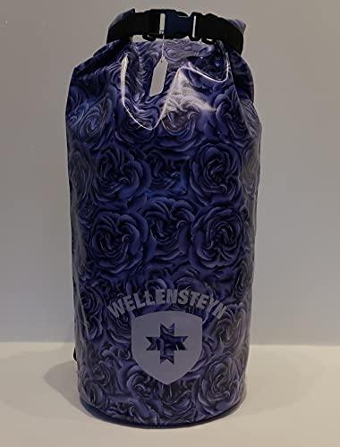 Wellensteyn Ocean Bag XL, kompakter, wasserdichter Rucksack, WXLOB734 BlumenLila