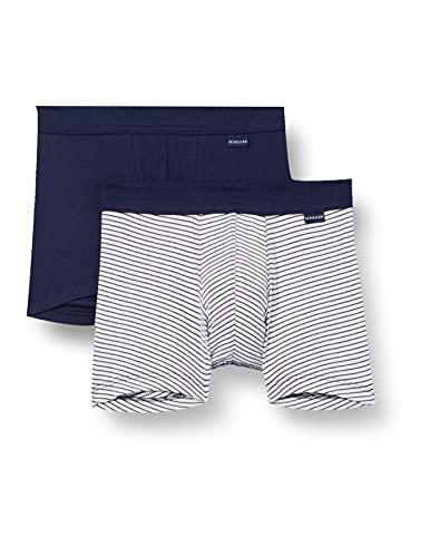 Schiesser Kinder Jungen Organic Cotton Boxershort mit Softbund, Mehrfarbig 1, 104 (2er Pack)