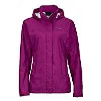 Marmot Women's PreCip  Jacket Wild Rose Small