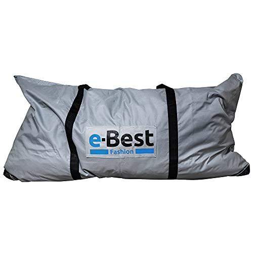 e-Best Bolsa de transporte extragrande, bolsa de viaje, bolsa de almacenamiento, bolsa de deporte, bolsa de transporte, bolsa de almacenamiento, con asas, extremadamente resistente, 120 cm x 60 cm