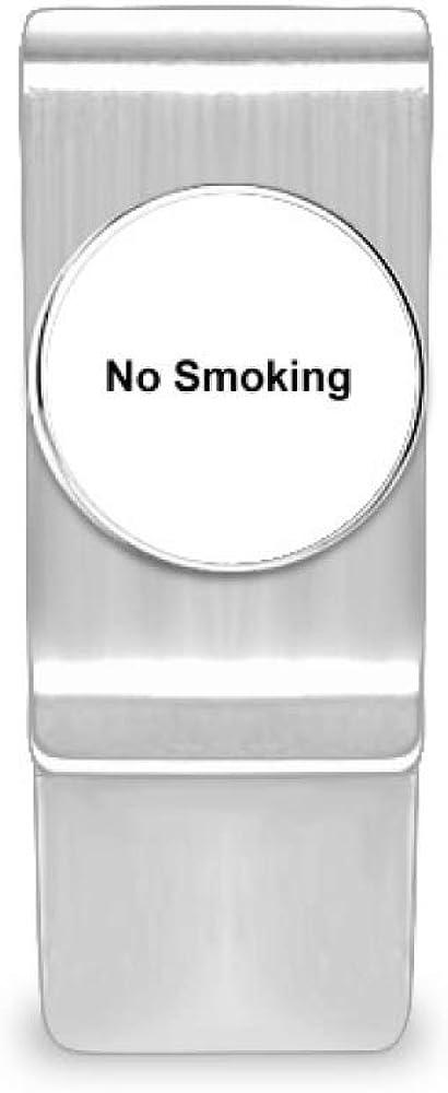 Max 53% OFF trust No Smoking Warning Symbol Money Cash Holder Card Wallet Clip